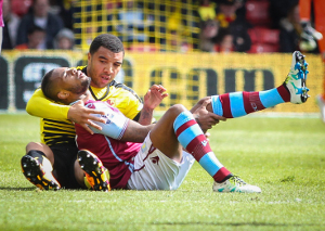 Troy Deeney by Steele Images